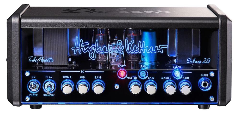 Hughes&Kettner HUK-TM20DX/H TubeMeister Deluxe 20 Head オールチューブギターアンプヘッド 専用ソフトバッグ付属