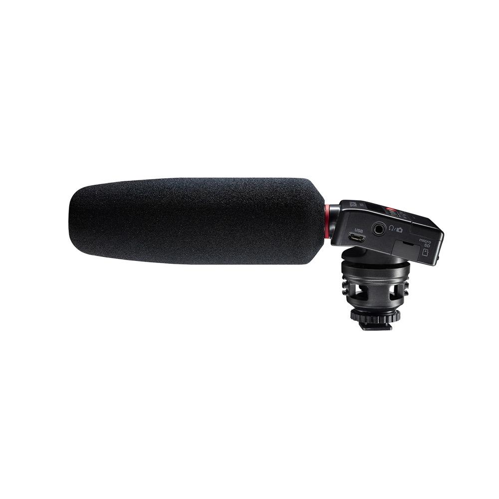 デジタル一眼レフカメラ用オーディオレコーダー 贈答 ガンマイク TASCAM 大放出セール DR-10SG ショットガンマイク搭載カメラ用リニアPCMレコーダー