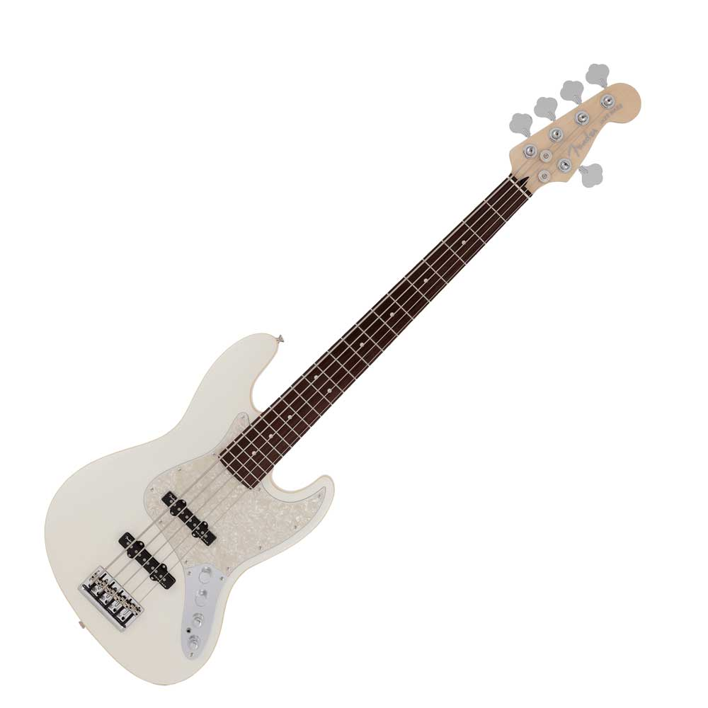 Fender Made in Japan Modern Jazz Bass V RW OLP エレキベース