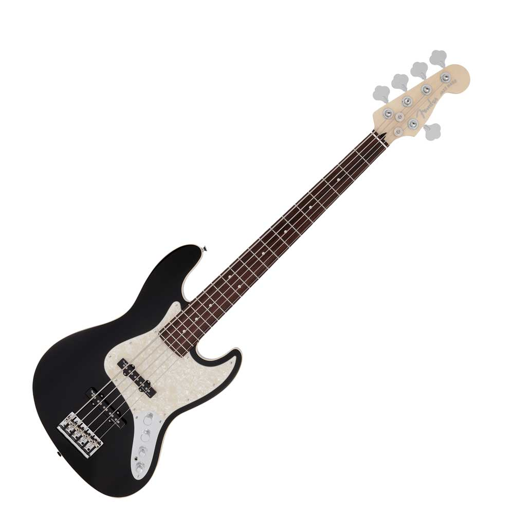 Fender Made in Japan Modern Jazz Bass V RW BLK エレキベース