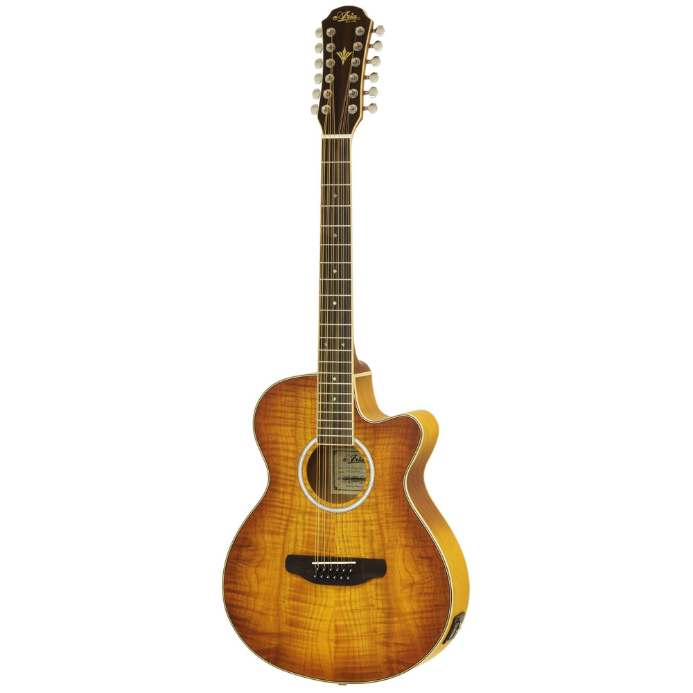 ARIA FET-DLX/12 LVS 12弦 エレクトリックアコースティックギター