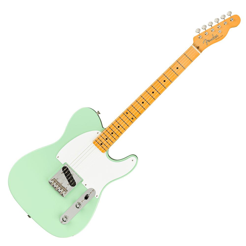Fender 70th Anniversary Esquire Maple Fingerboard Surf Green エレキギター