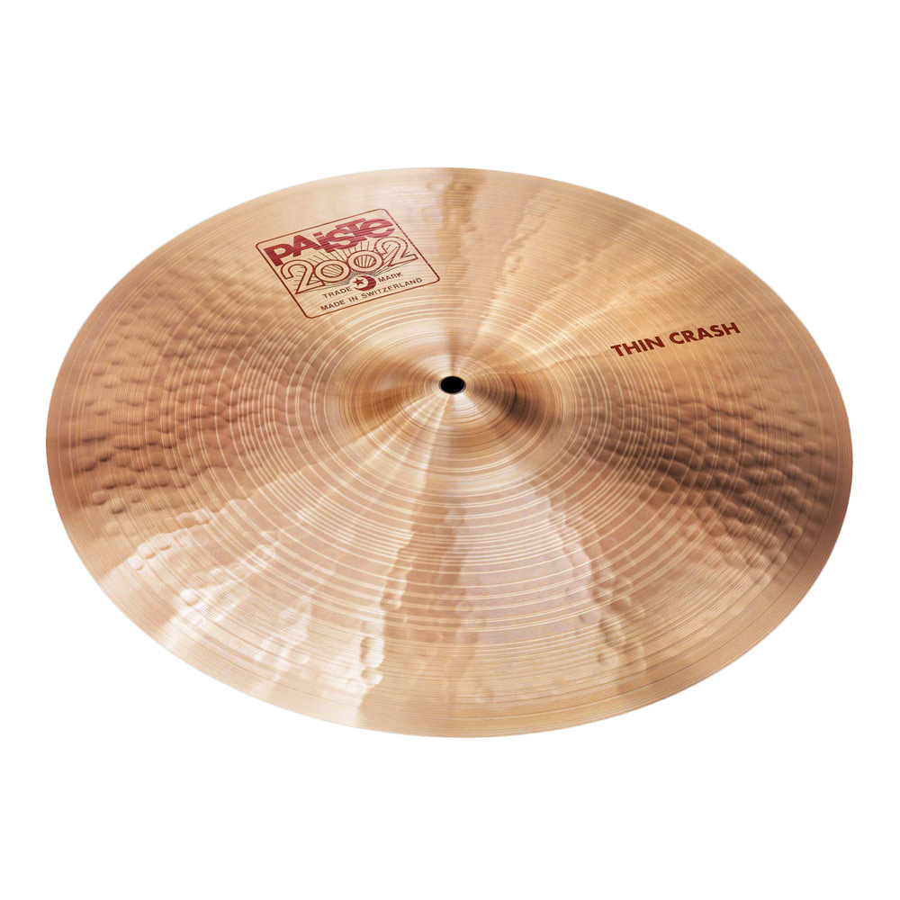 "PAISTE 16"" 2002 2002 Thin PAISTE Crash 16"" クラッシュシンバル, こぶるず:f19f49b0 --- officewill.xsrv.jp"