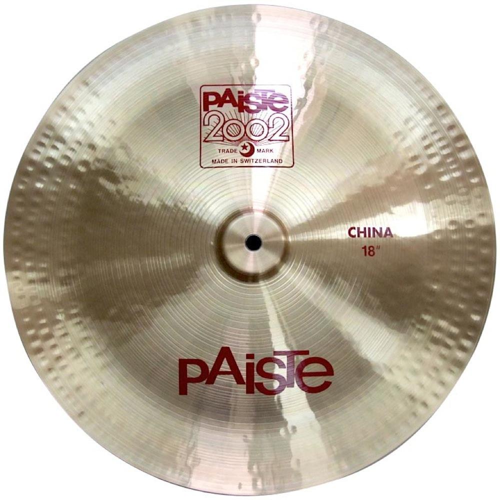 "PAISTE 2002 China 18"" チャイナシンバル 正規輸入品"