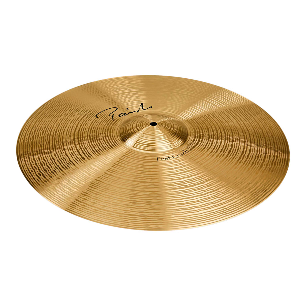 "PAISTE Signature Fast Crash 18"" クラッシュシンバル"