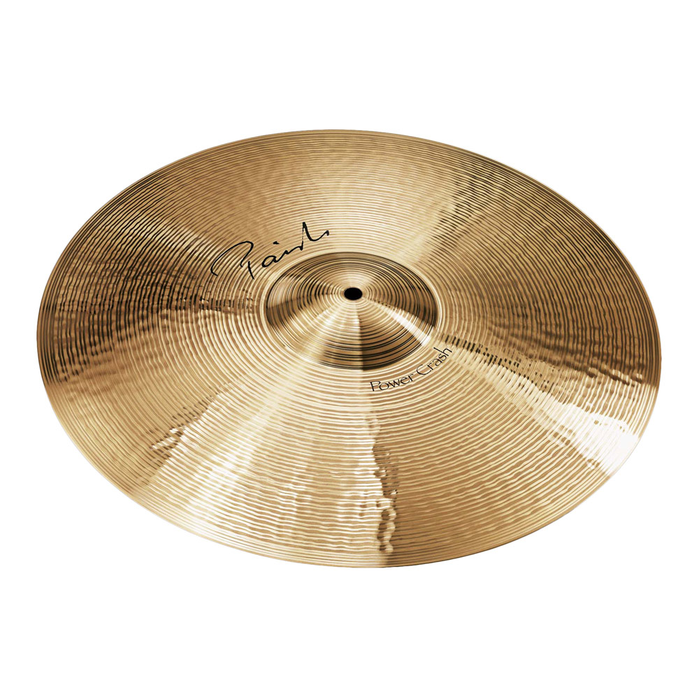 "PAISTE Signature Power Crash 18"" クラッシュシンバル"