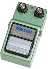 MAXON OOD9/ORGANIC OVERDRIVE ギターエフェクター