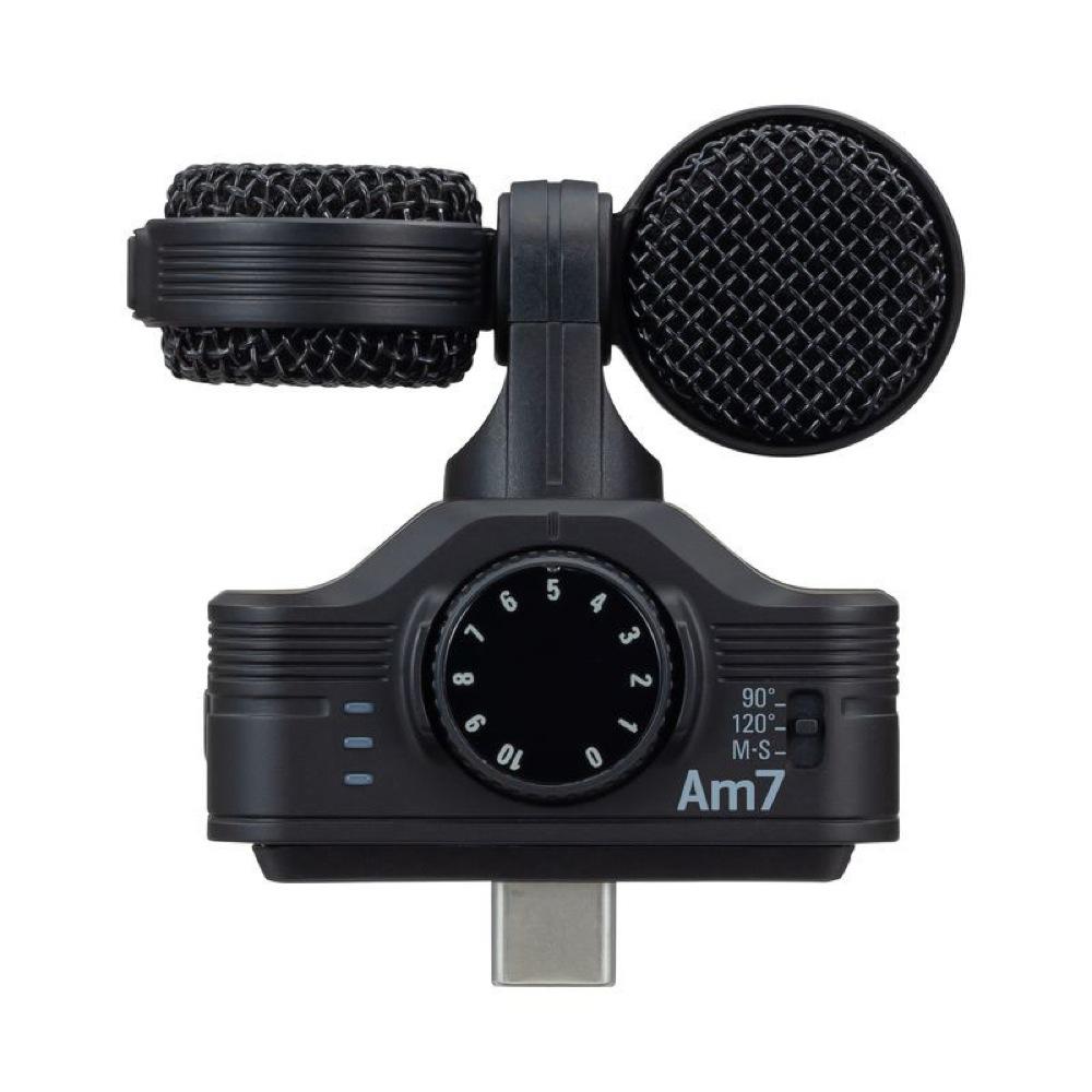 ズーム 本日の目玉 アンドロイド用 高音質ステレオマイク ZOOM Am7 高級品 USB Android用 MSステレオマイク Type-C接続