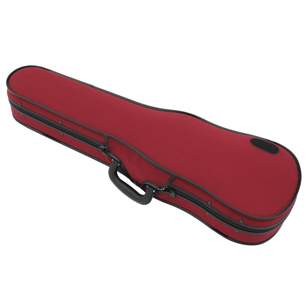 バイオリン用ケース 出荷 レッド リュック式可能 東洋楽器 UL 国内正規品 4 ONE 4サイズ用 シェル バイオリンケース