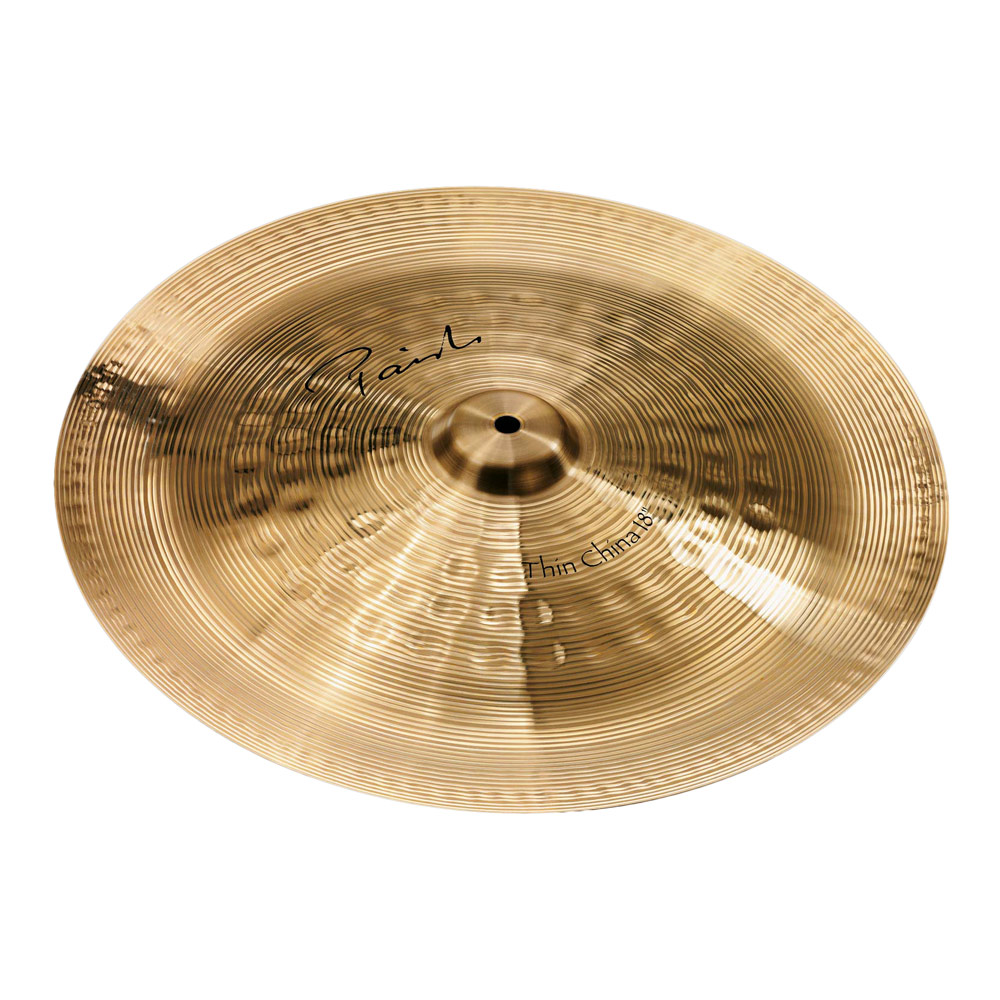 "PAISTE Signature Thin China 18"" チャイナシンバル"