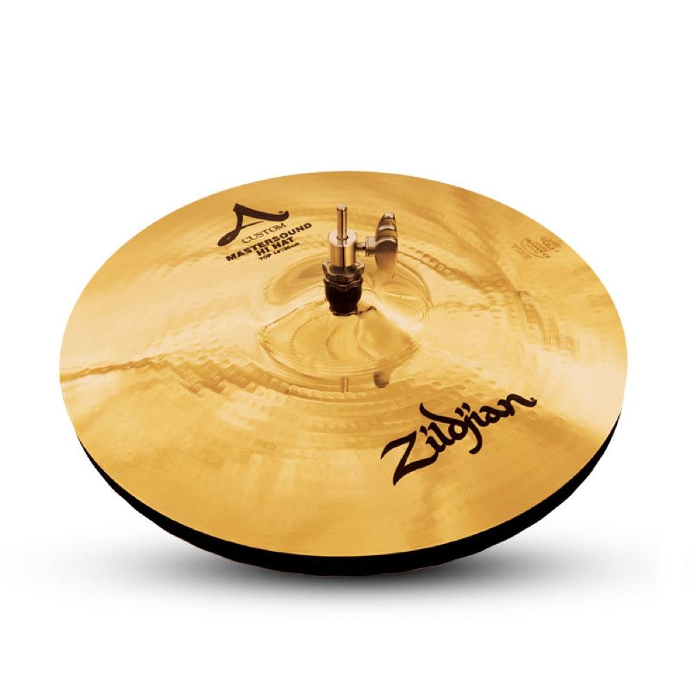 "ZILDJIAN 14"" A Custom Master Sound HiHat Bottom Medium ハイハットシンバル"