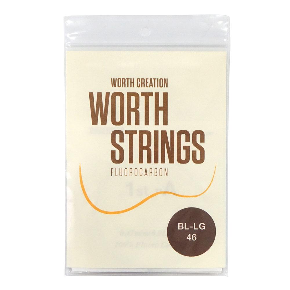 ワースストリングス 優先配送 ウクレレ弦 ブラウンフロロカーボン Worth Low-G Strings オンライン限定商品 Light BL-LG