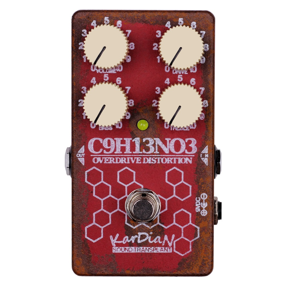 KarDiaN C9H13NO3 アドレナリン ディストーション ギターエフェクター