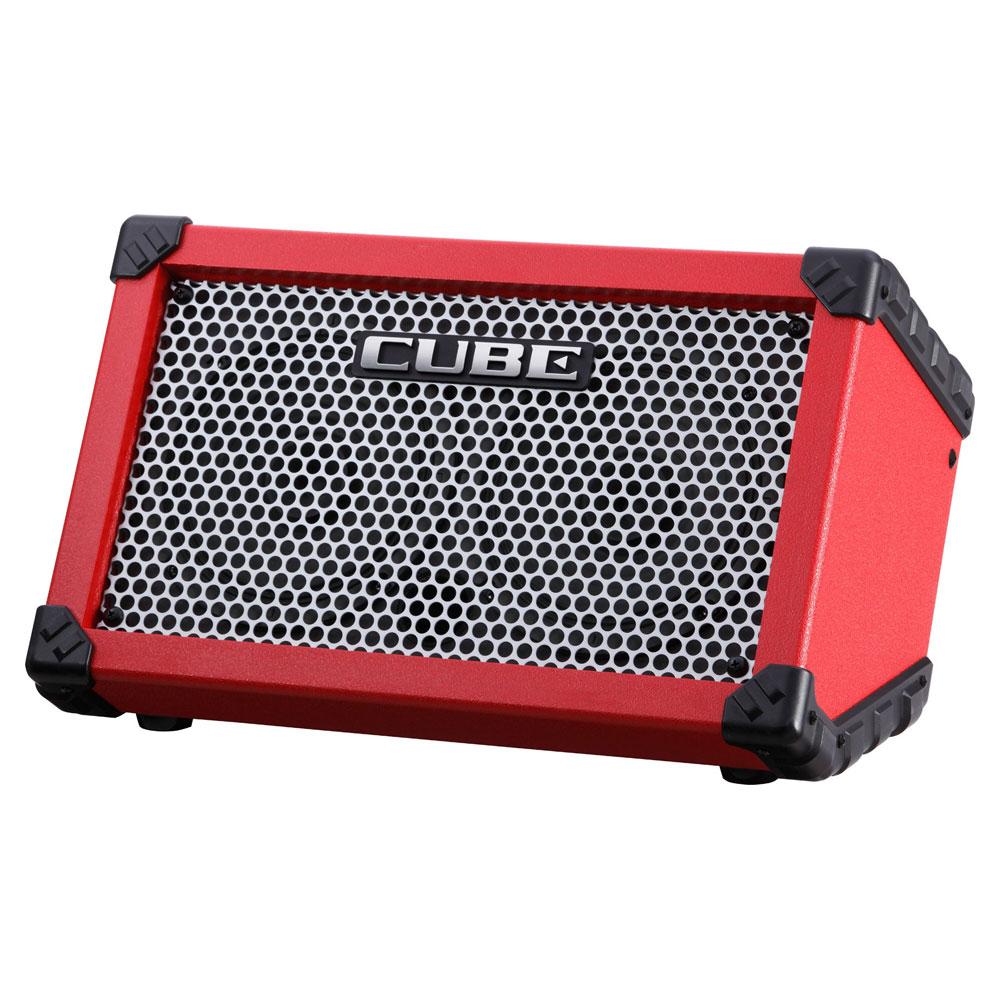 ROLAND CUBE Street/RED 乾電池駆動可能ギターコンボアンプ