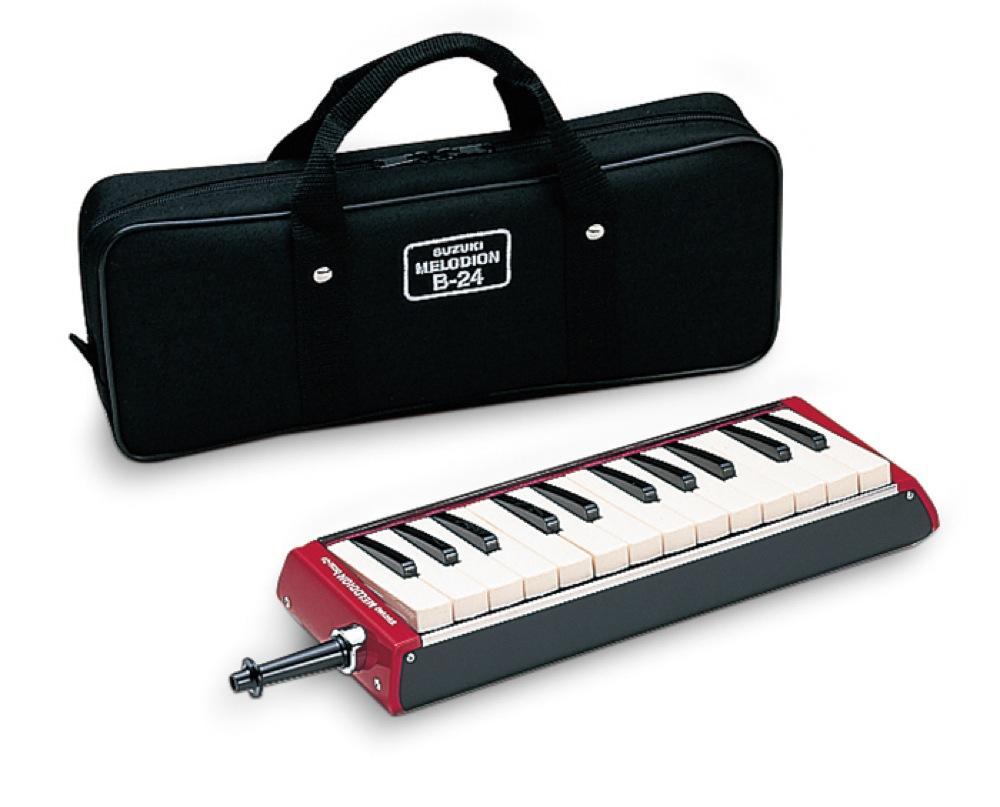 SUZUKI B-24C メロディオン バス 鍵盤ハーモニカ