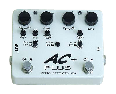 Xotic Guitars AC PLUS 正規輸入品