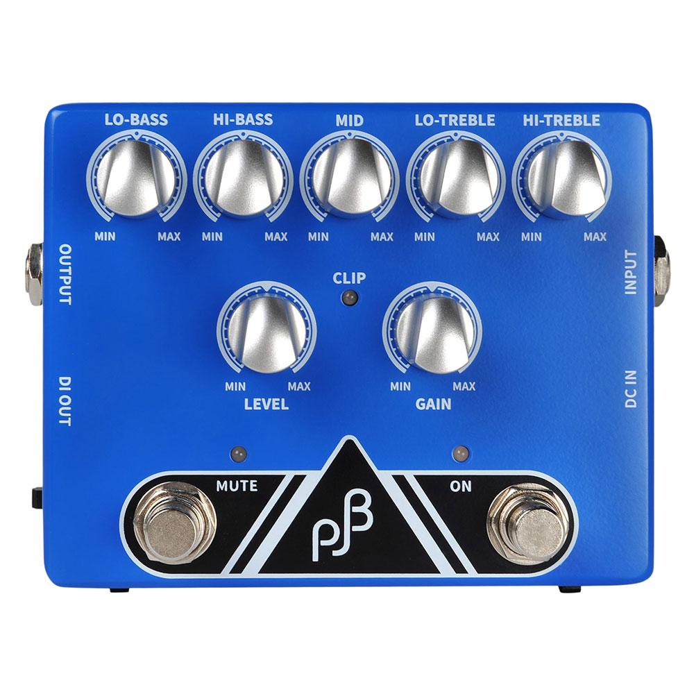 フィルジョーンズベース PJB初のベース用ペダル PHIL JONES BASS PE-5 Bass Pedal ベース用 プリアンプ