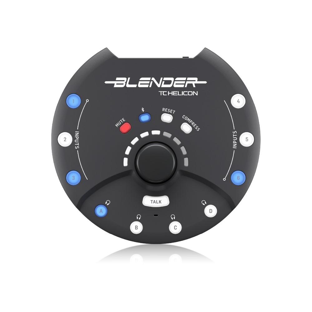 TCヘリコン デジタルミキサー 好評受付中 『1年保証』 TC-HELICON ステレオミキサー オーディオインターフェース BLENDER