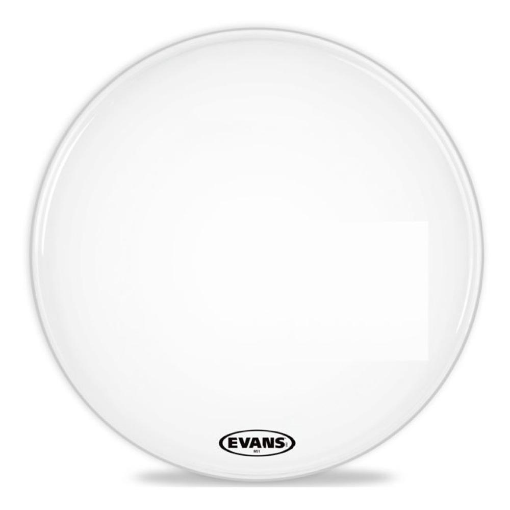 至高 エヴァンス MSシリーズ マーチングバスドラムヘッド ホワイト ブランド買うならブランドオフ EVANS BD24MS1W Bass 24