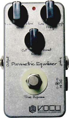 VOCU Parametric Equalizer ヴィンテージワイアー配線