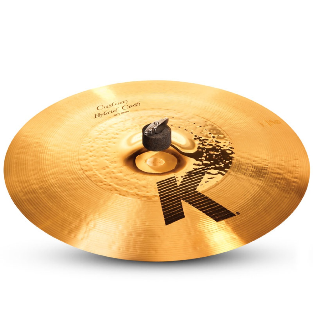ZILDJIAN K.Custom Hybrid Crash 17""