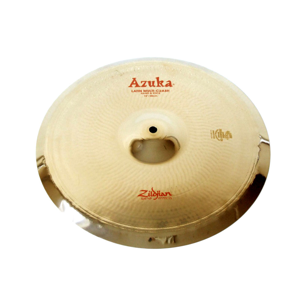 "ZILDJIAN FX Azuka Latin Multi-Crash Hand & Stick 15"" エフェクトシンバル"