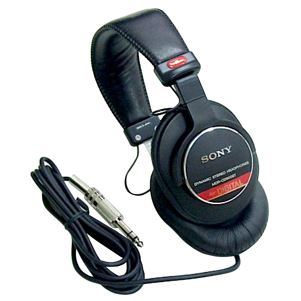 市販 ソニ-製 定番 プロ仕様のヘッドフォン SONY スタジオモニター用 高級 MDR-CD900ST ヘッドホン