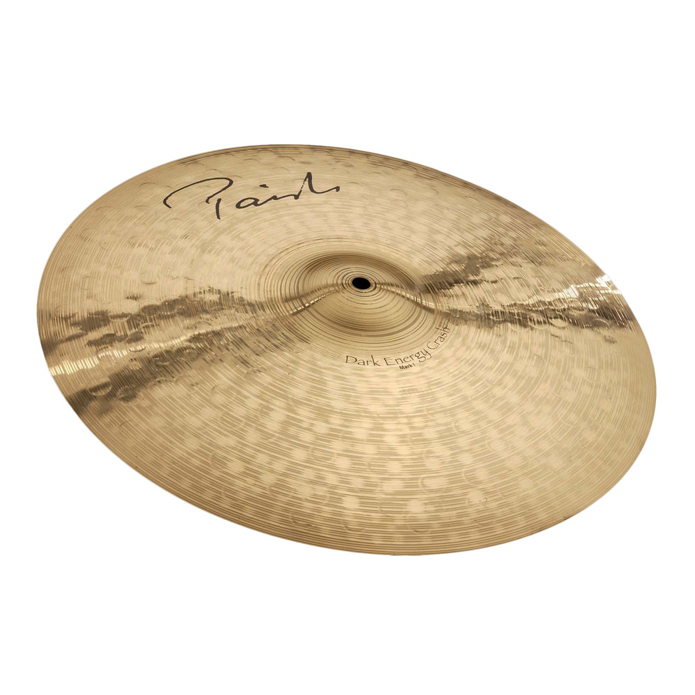 "PAISTE Signature Dark Energy Crash Mark I 18"" クラッシュシンバル"