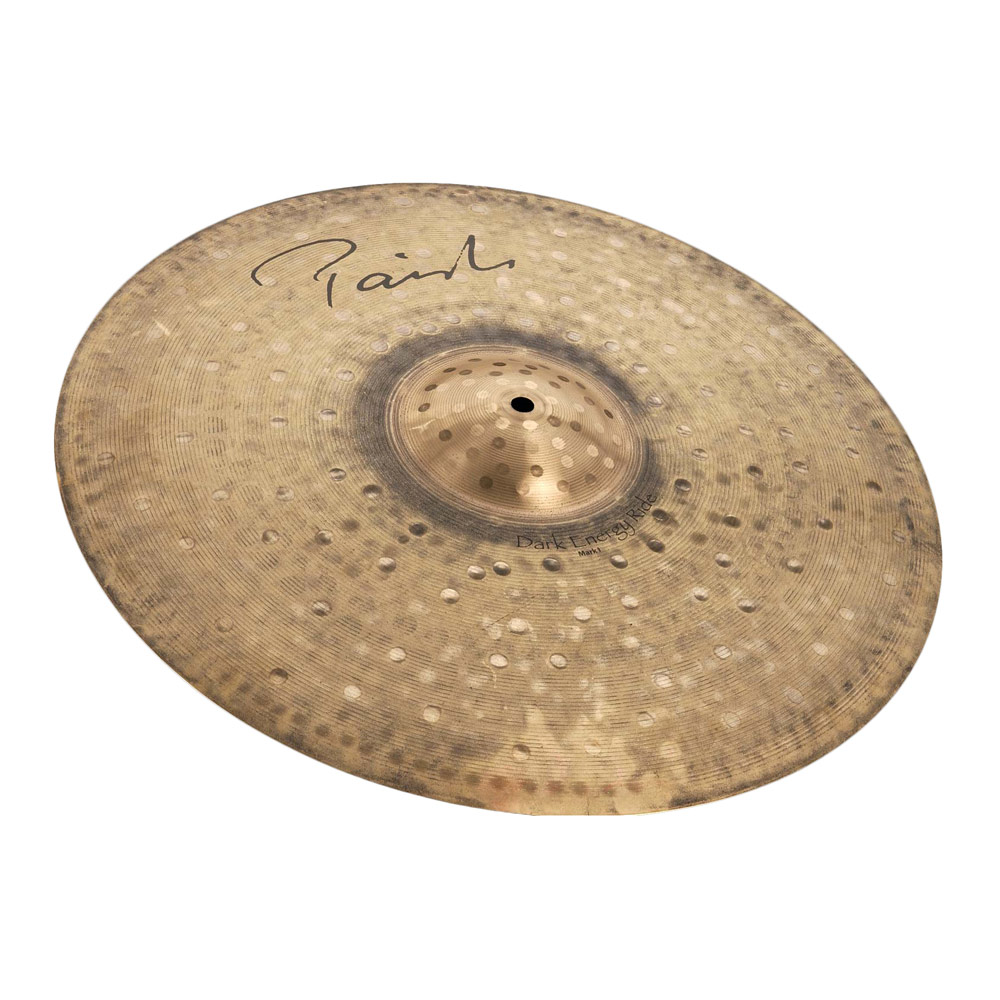 "PAISTE Signature Dark Energy Ride Mark I 20"" ライドシンバル"