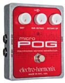 ELECTRO-HARMONIX Micro POG エフェクター 正規輸入品