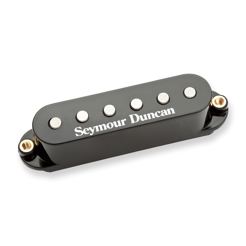 Seymour Duncan STK-S4m Classic Stack Plus Middle Black エレキギターピックアップ