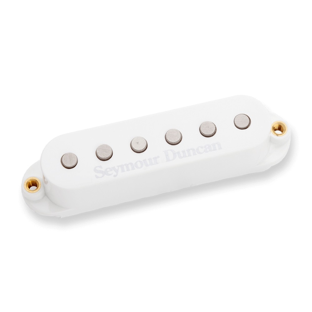 Seymour Duncan STK-S4m Classic Stack Plus Middle White エレキギターピックアップ
