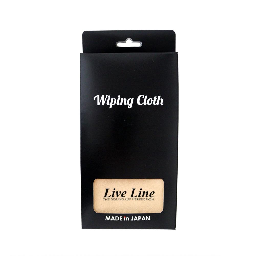 ライブライン 楽器用クロス ワイピングクロス LIVE LINE CLOTH CR LWC1800 WIPING 信頼 本物