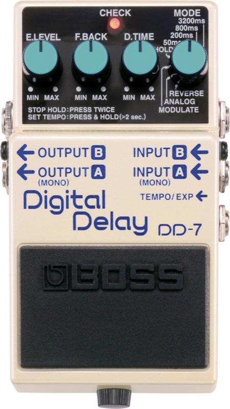 BOSS DD-7 デジタルディレイ エフェクター