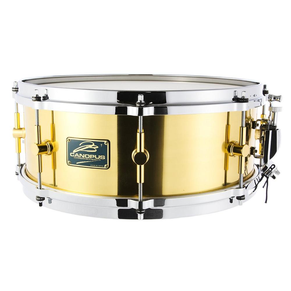 CANOPUS B-1465 The Brass スネアドラム