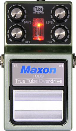 MAXON TOD9/True tube Overdrive ギターエフェクター