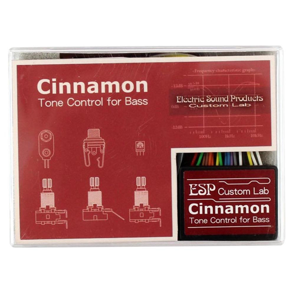 ESP CINNAMON/BASS 3BAND EQ ACTIVE CIRCUIT ベースプリアンプ