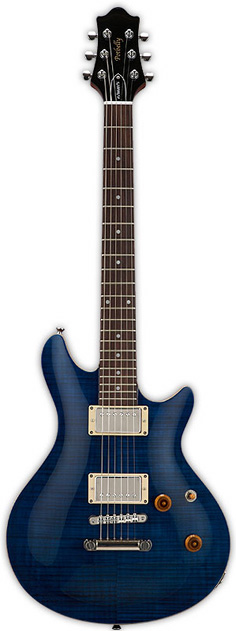EDWARDS E-PO-100D See Thru Blue エレキギター
