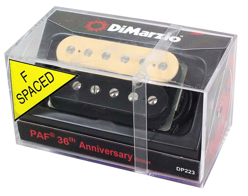 Dimarzio DP223F/PAF 36th Anniversary Bridge/BC エレキギター用ピックアップ