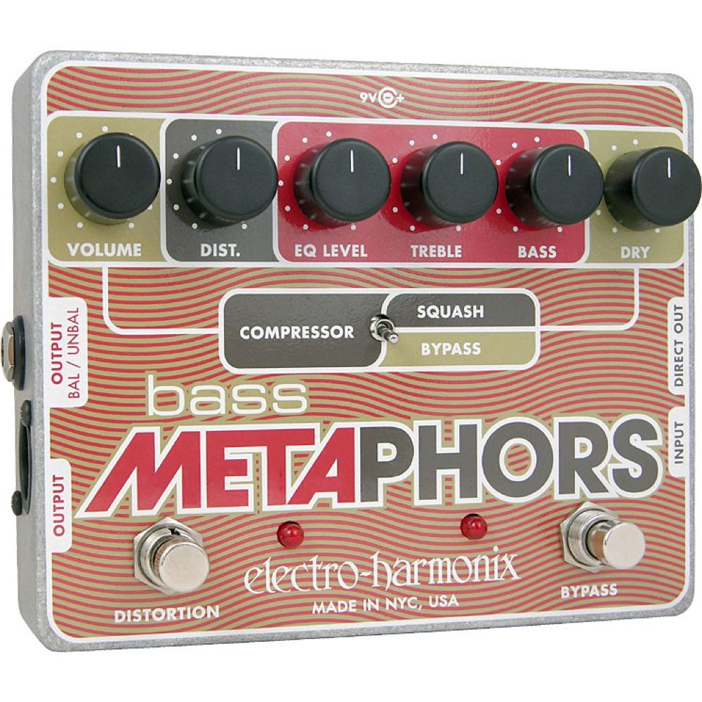ELECTRO-HARMONIX Bass Metaphors ベース用エフェクター 正規輸入品