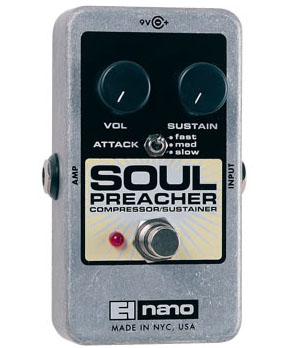 ELECTRO-HARMONIX Soul Preacherr ギターエフェクター