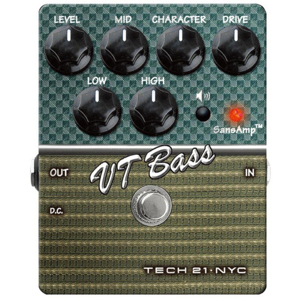 SANSAMP/Tech21 VT Bass ベースエフェクター