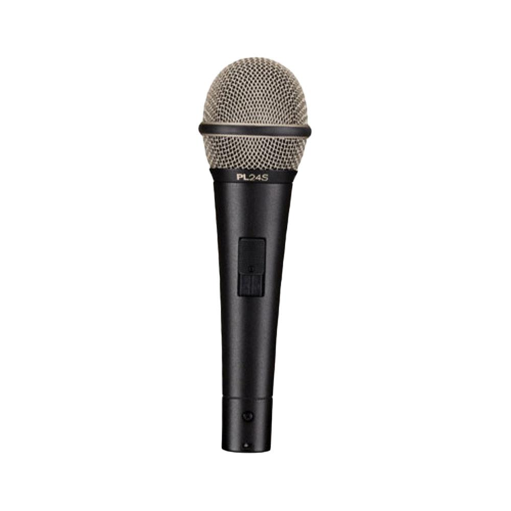 Electro-Voice PL24S スイッチ付き ダイナミックマイク