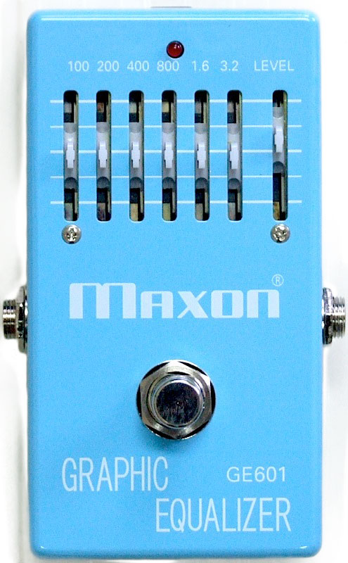 MAXON GE601 GRAPHIC EQUALIZER ギターエフェクター