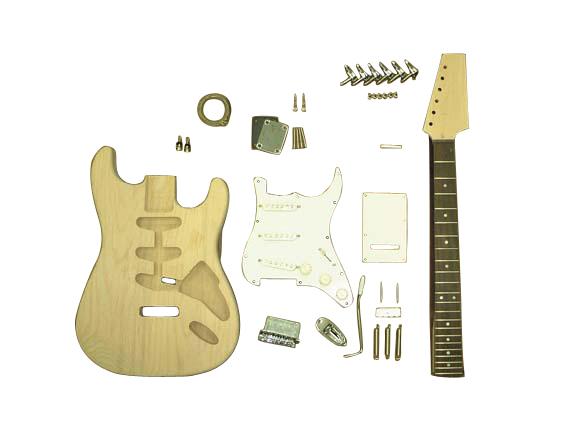 HOSCO ER-KIT-ST エレキギターストラト組み立てキット