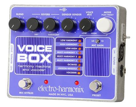 ELECTRO-HARMONIX Voice Box ヴォーカルエフェクター 正規輸入品