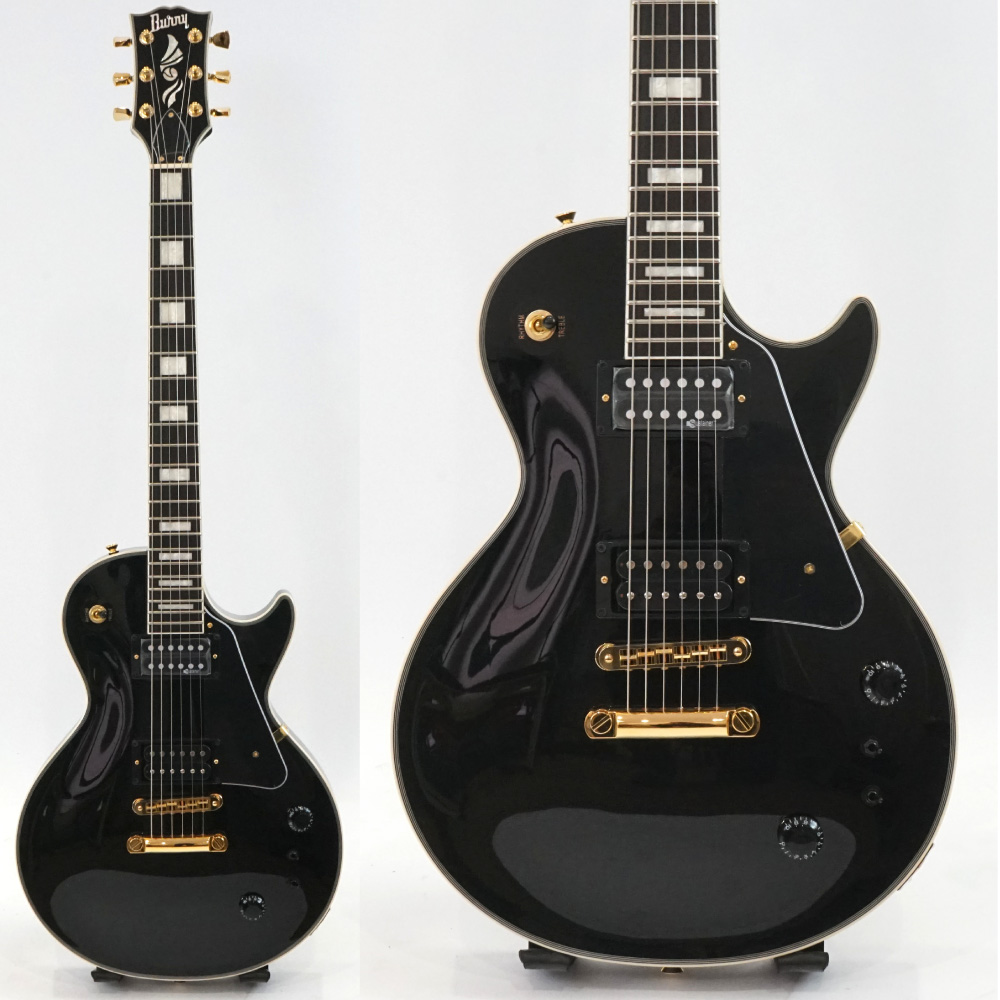 BURNY RLC-75S BLK エレキギター