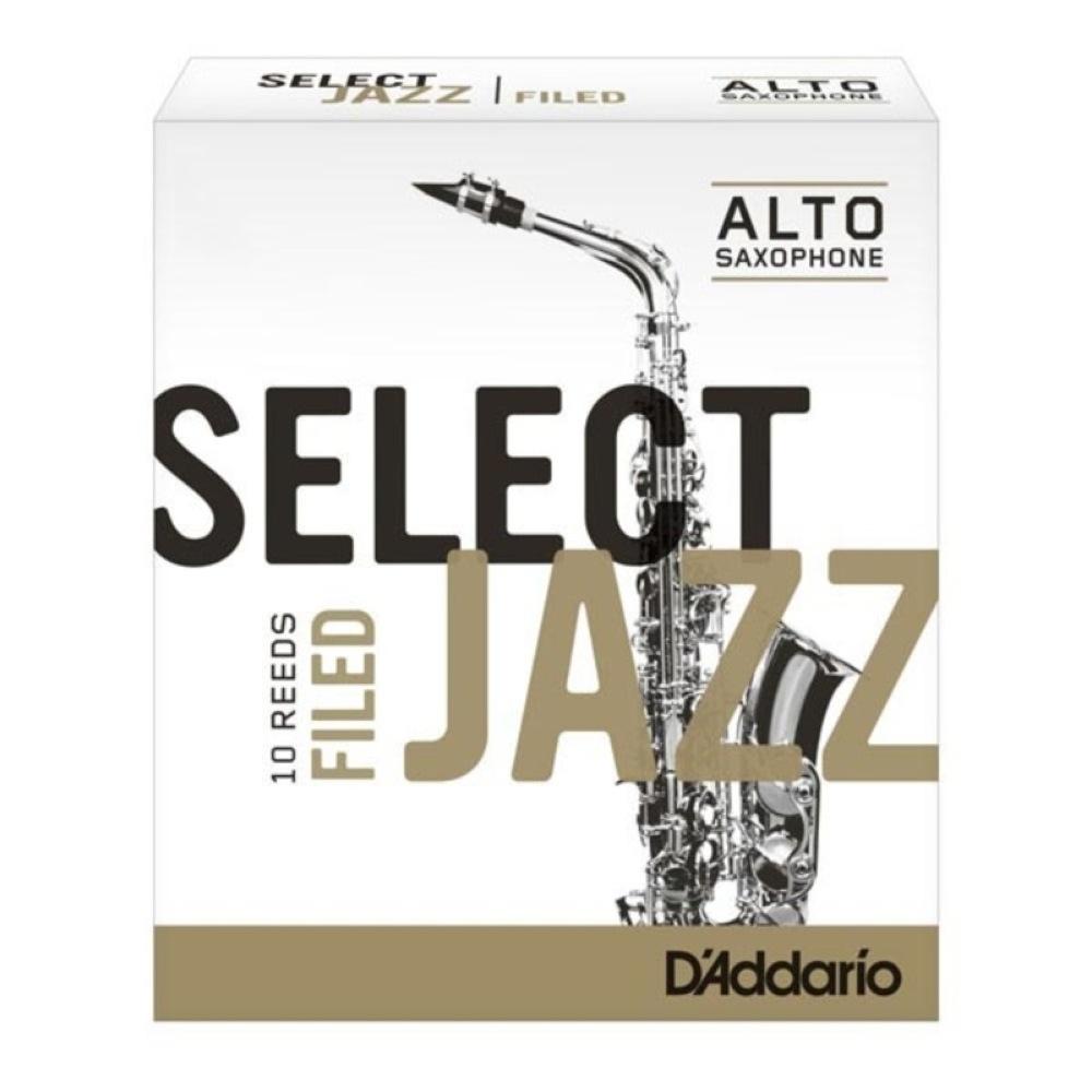 海外 ジャズセレクト アルトサクソフォン用リード 2S D'Addario Woodwinds ファイルドカット 定番スタイル LRICJZSAS2S アルトサックスリード RICO