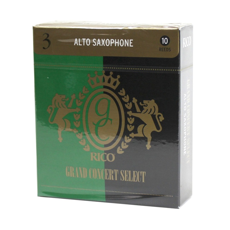 2-2 PACKS OF RICO GRAND CONCERT SELECT ALTO SAX REEDS SIZE 3 1//2 3.5 4 reeds