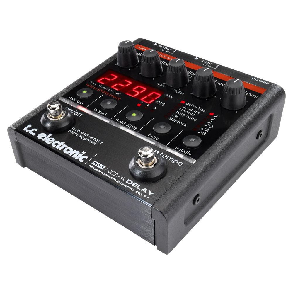 tc electronic ND-1 Nova Delay ディレイ エフェクター